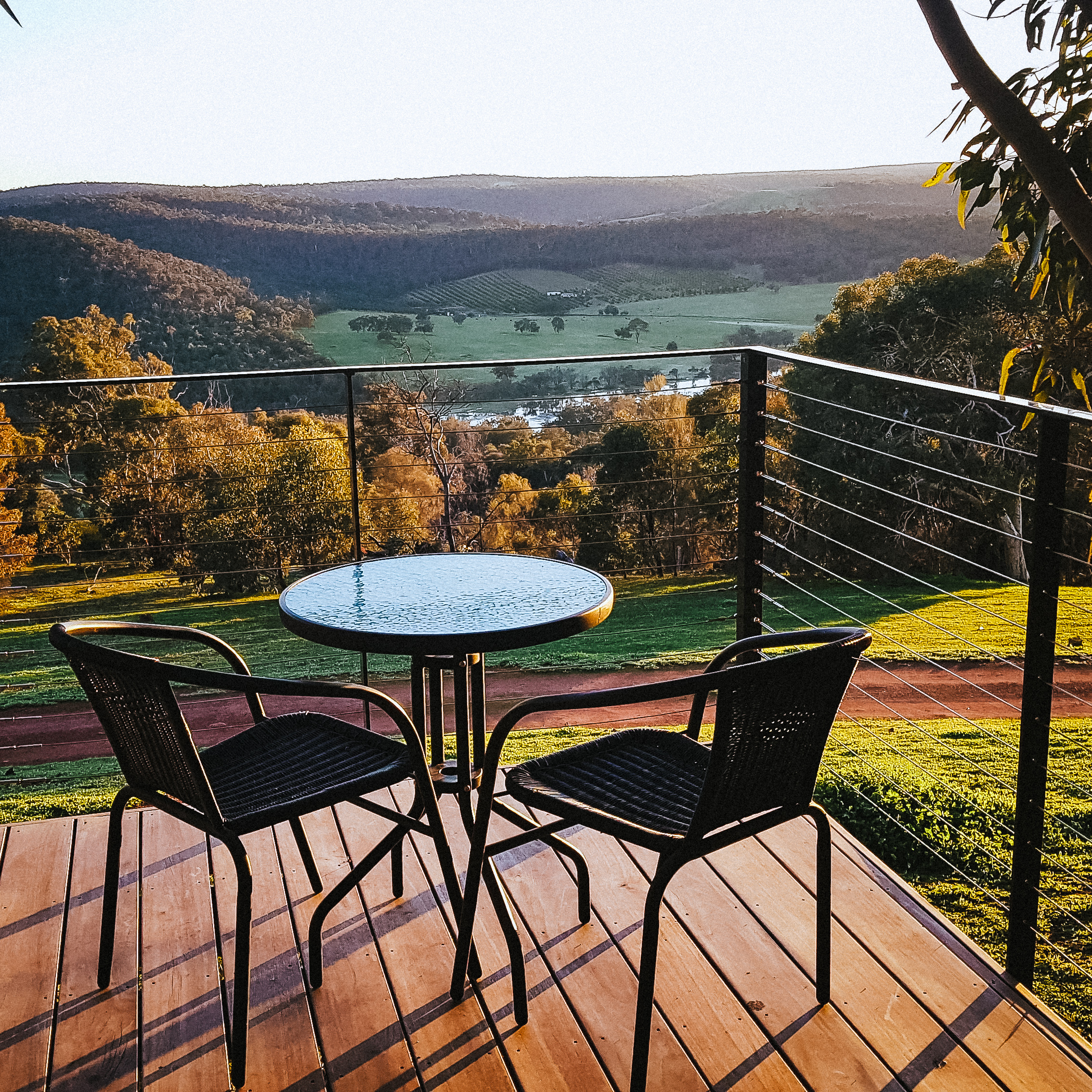 Chittering Heights Spa Deck